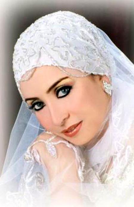 اجمل مكياج للعروس المحجبة 3_28