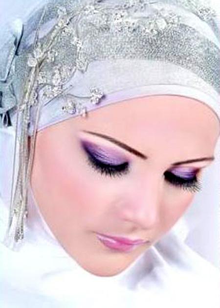 اجمل مكياج للعروس المحجبة 5_23