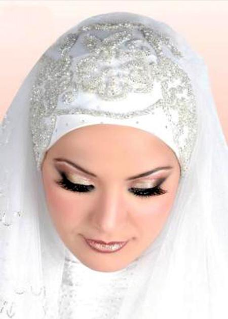 اجمل مكياج للعروس المحجبة 6_18