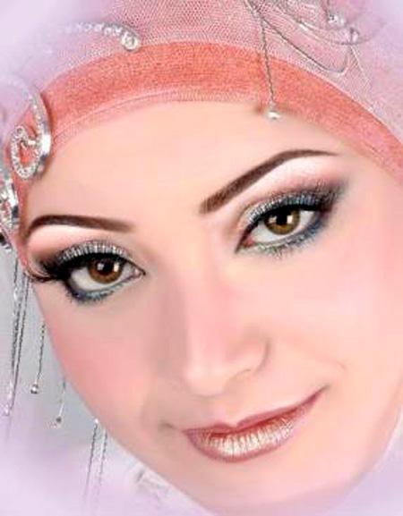 اجمل مكياج للعروس المحجبة 9_16