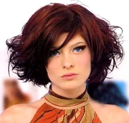 الشعر القصير بالوان واشكال جديدة 1_89