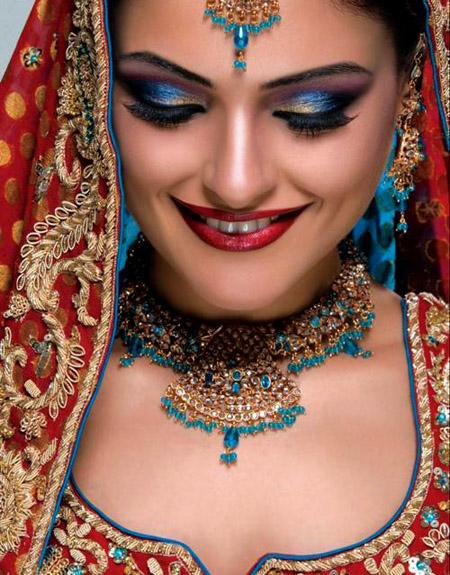 لينعم وجهك بالماكياج الهندي , البوم صور F_1
