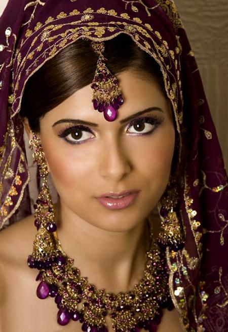 لينعم وجهك بالماكياج الهندي , البوم صور G_1