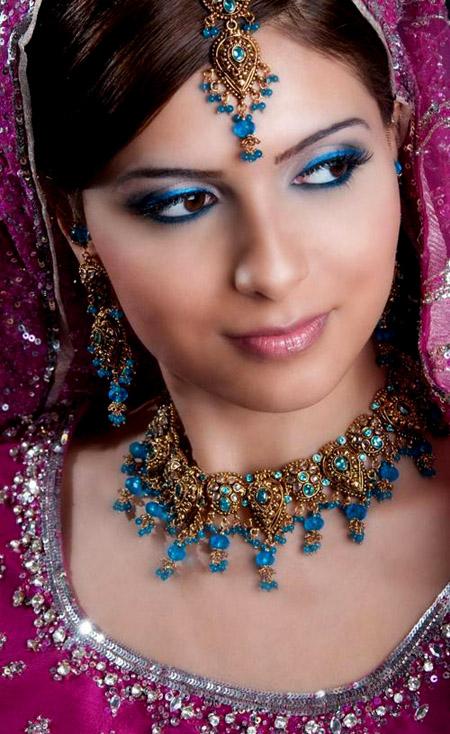 لينعم وجهك بالماكياج الهندي , البوم صور I