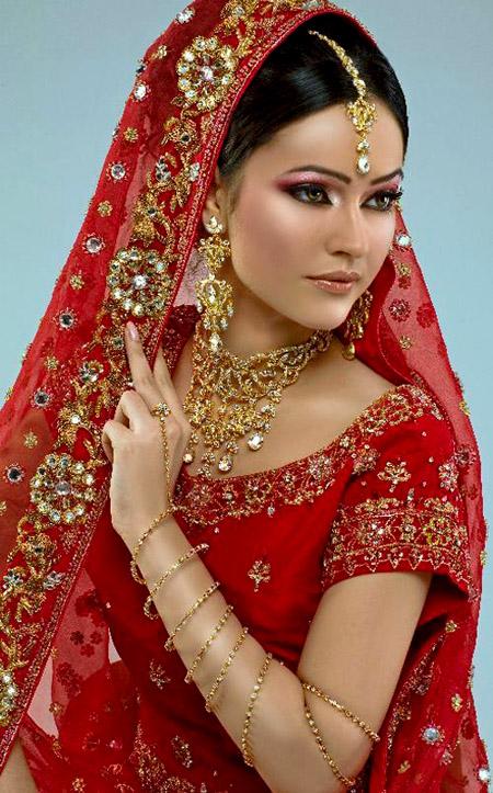 لينعم وجهك بالماكياج الهندي , البوم صور J