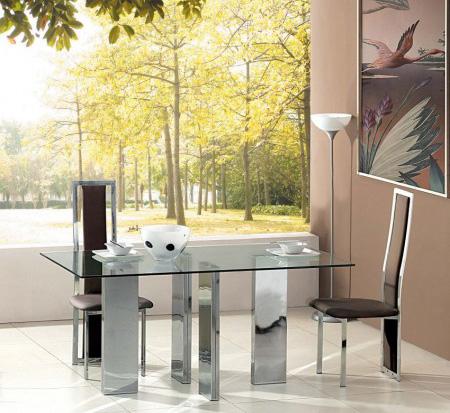 غرف طعام مصنوعة من الزجاج , ستايلات جميلة Tetris-glass-table-chairs-D