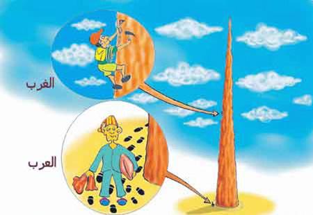 الفرق بيت العرب و الغرب. 5