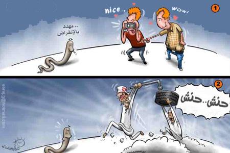 الفرق بيت العرب و الغرب. 8