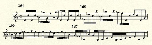 [Théorie Musicale]-Analyse de ma compo Freddy's Trance Mesures164a168