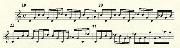 [Théorie Musicale]-Analyse de ma compo Freddy's Trance Mesures19a23