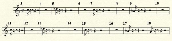 [Théorie Musicale]-Analyse de ma compo Freddy's Trance Mesures3a19