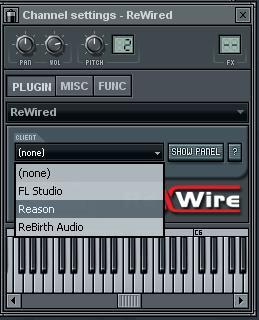 [REWIRE]-FL Studio + Reason ( tuto court ) 56379