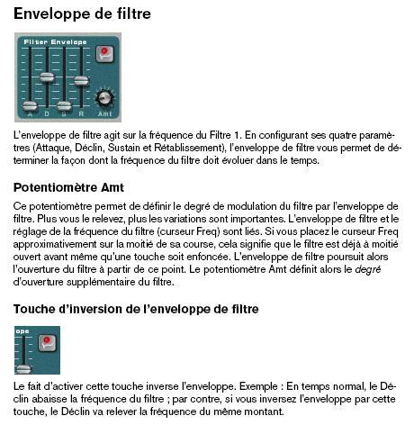 [Théorie Synthèse]-«FILTER» Enveloppes ( Tuto 2 ) ADSRmanuel7