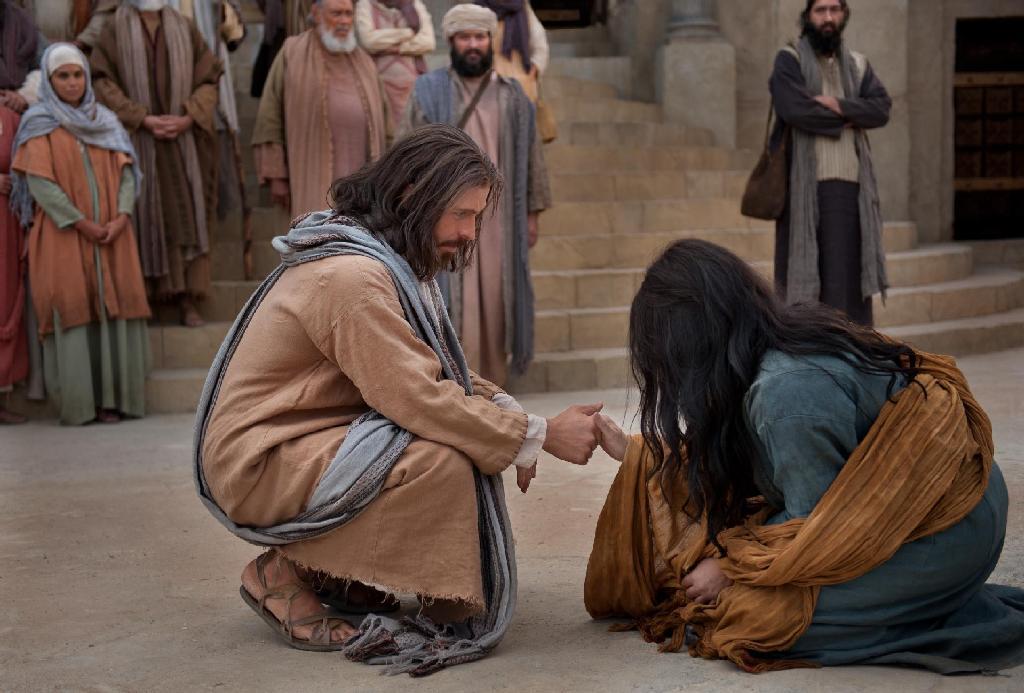 Jesucristo se me ha manifestado y me ha amado... Jesus-y-adulterajpg-2_1024