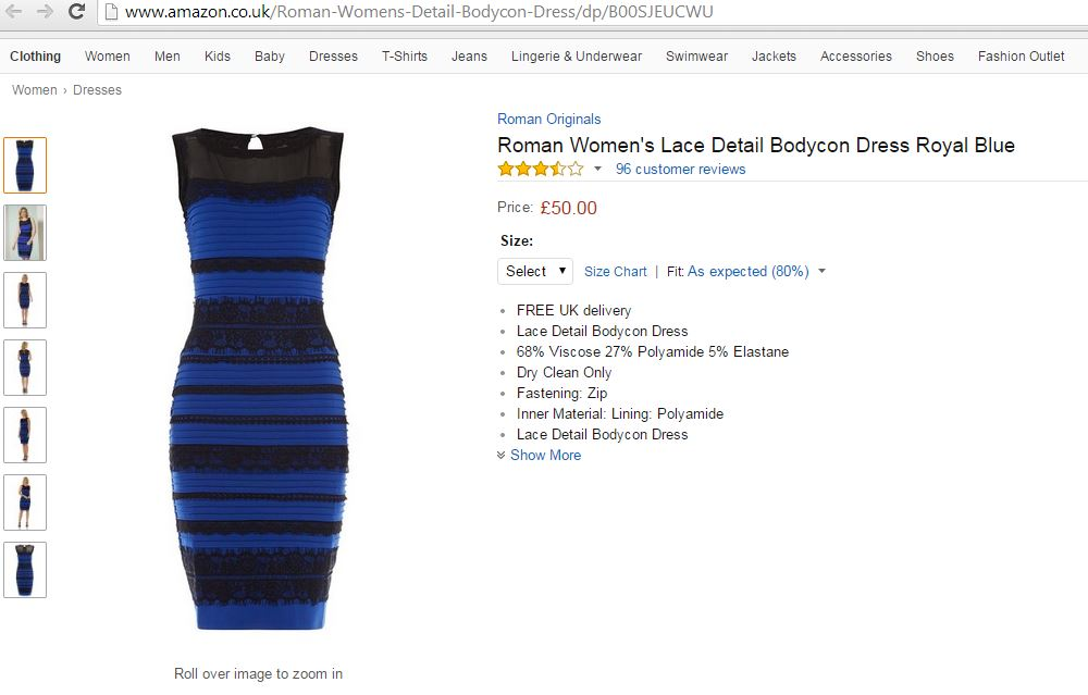 Какого цвета платье??? Не розыгрыш-все видят разный цвет 345