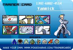 Arène Acier 207255_trainercard-Yannick