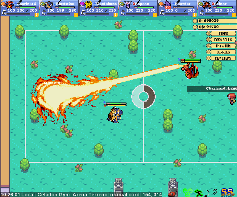 Pokemon Sekai! MMORPG com batalhas em tempo real! Print7