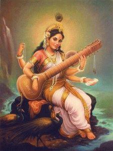 Каждую женщину на земле, поддерживают три энергии. Sarasvati-225x300