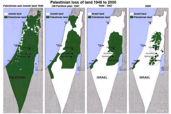 GRACIAS, AZNAR! Mapa-palestina-israel