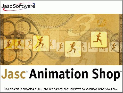 Animation Shop 3.11 para fazer animações para sites Animation-shop