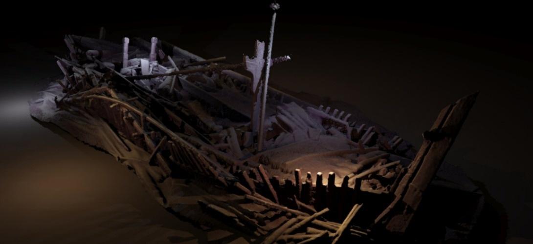 Des archéologues découvrent 44 épaves intactes au large de la Bulgarie ! Par Axel Leclercq                             Mer-noire-decouverte-archeologique-44-epaves-bateau-1