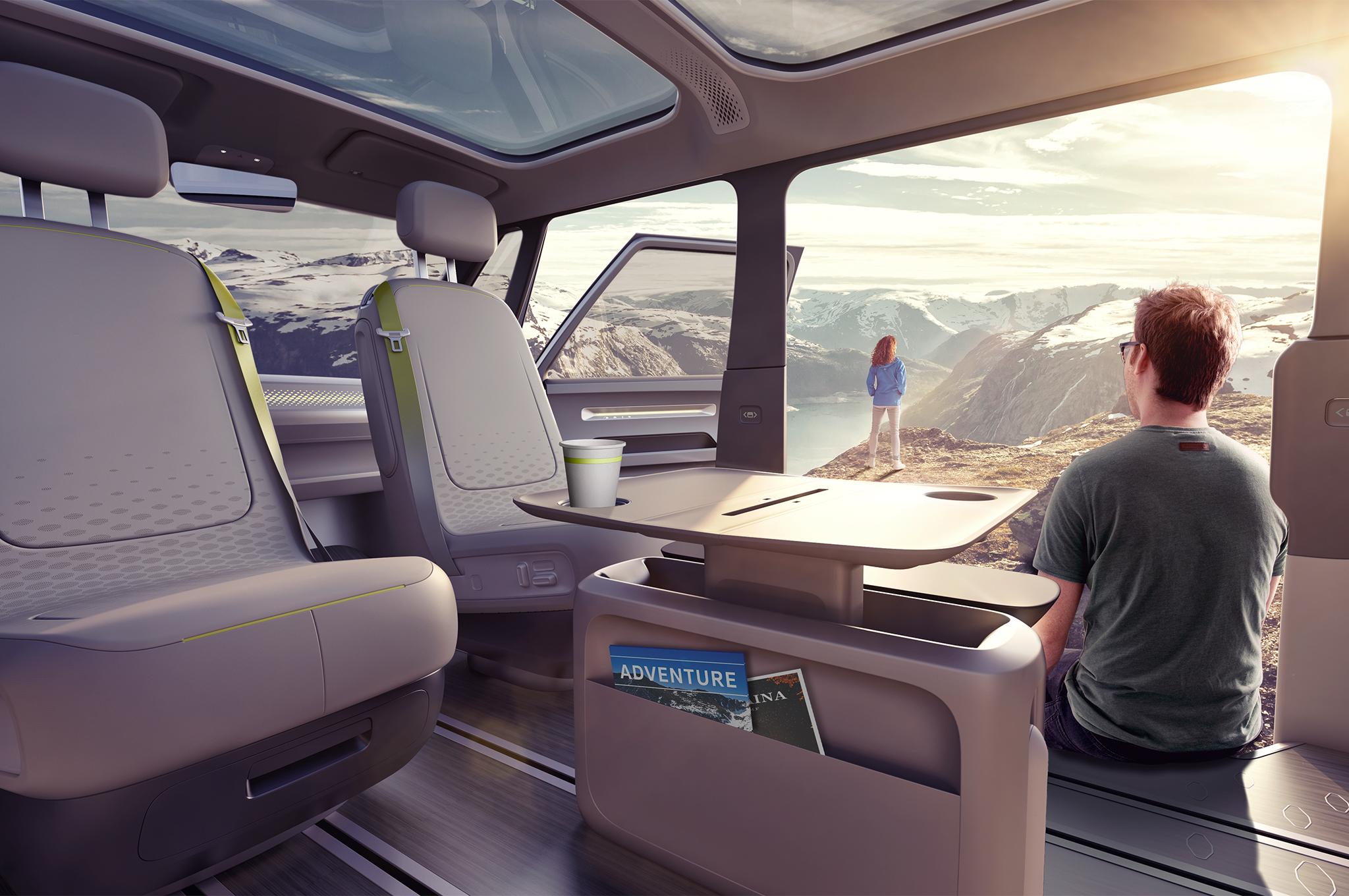 Le légendaire combi Volkswagen fait son retour... en mode électrique ! Par Axel Leclercq Combi-volkswagen-combi-electrique-1