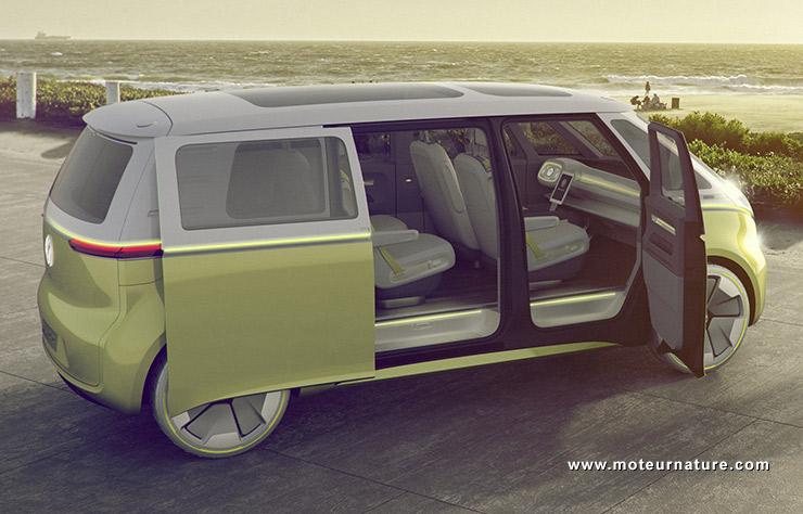 Le légendaire combi Volkswagen fait son retour... en mode électrique ! Par Axel Leclercq Combi-volkswagen-combi-electrique-2