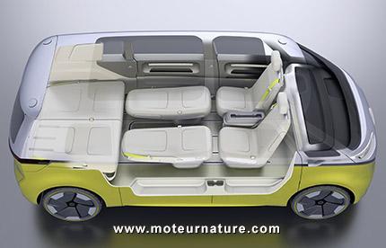 Le légendaire combi Volkswagen fait son retour... en mode électrique ! Par Axel Leclercq Combi-volkswagen-combi-electrique-5