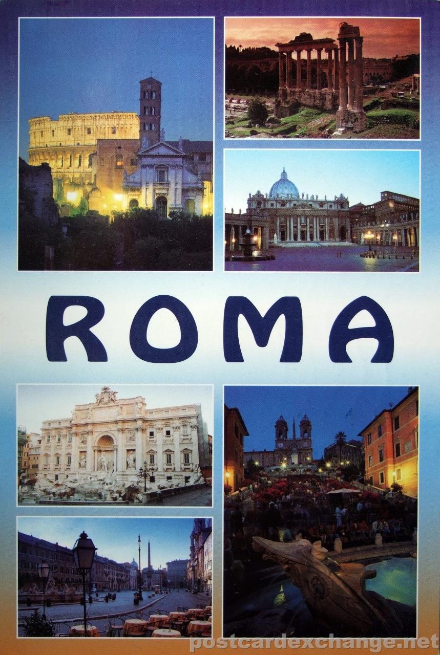Pošalji mi razglednicu, neću SMS, po azbuci - Page 2 Rome