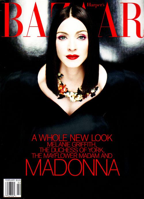 Gira >> Drowned World Tour 2001 - Página 3 Madonna-harper-s-bazaar-magazine-february-1999