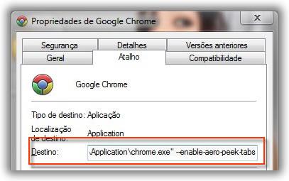 Activar Pré-visualização separadores do Google Chrome Imagem_chrome_aero_peak05_small