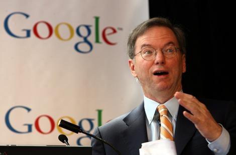 """""""Num futuro próximo, a Google irá planear a vida das pessoas"""" Ericschmidt"""