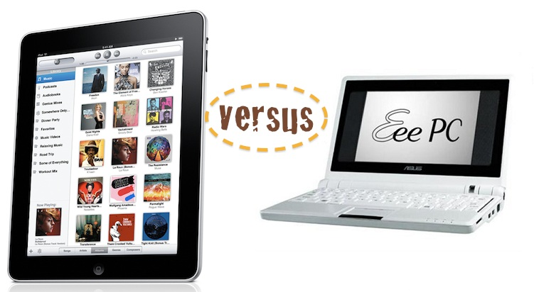 iPad afecta as vendas de netbooks? Ipad-vs-netbook