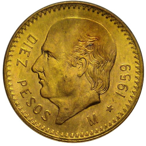 Como Valorar una Moneda? 1205-09-DiezPesosMexicanosOro