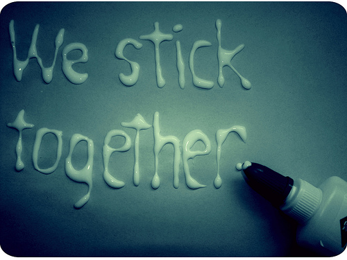 My message to you all. We-stick-together