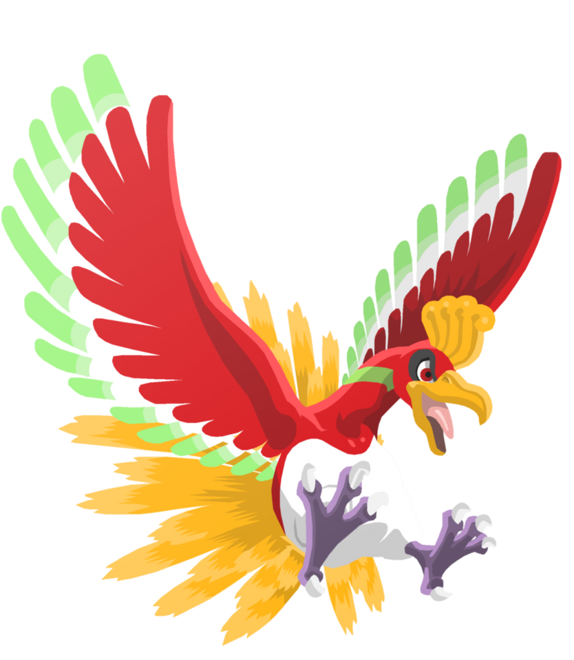 ~ • ~ Rainbow Tournament ~ • ~ [6th OU] Monocolor ~ • ~ Ho_oh_by_dburch01-d71ill0