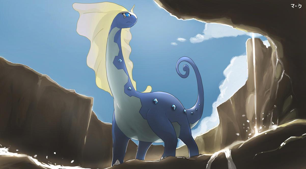 Dragmara / Aurorus  Pokemon__aurorus_by_mark331-d6o8zkd