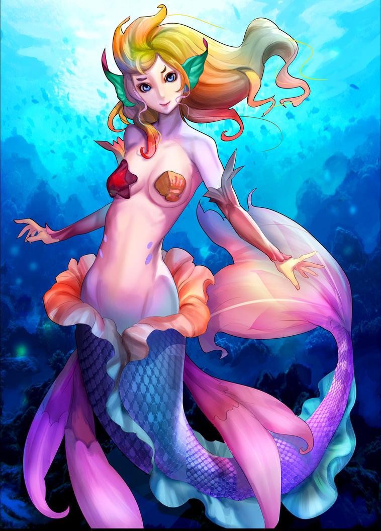 Bienvenidos al nuevo foro de apoyo a Noe #277 / 30.07.15 ~ 05.08.15 - Página 39 Mermaid_by_readman-d5zbok4