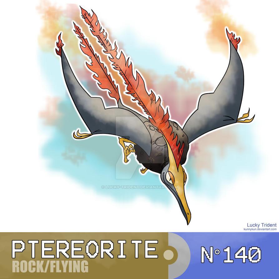Le Topic à Flo' ~ BioWare - DanganRonpa - Page 4 Ptereorite__fossile_pokemon__by_lucky_trident-d9ebpgl