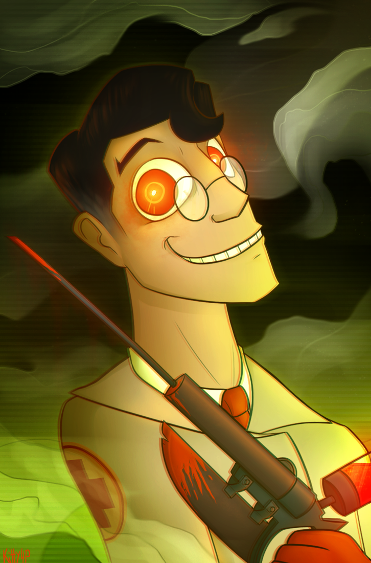 Your very own art - Page 31 Spooky_medic_by_kitty4president-d9duw40