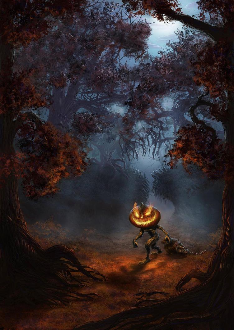Fortune's Horror Show : Réglement [TERMINE] Dont_enter_the_woods_by_elderscroller-d5k93jl