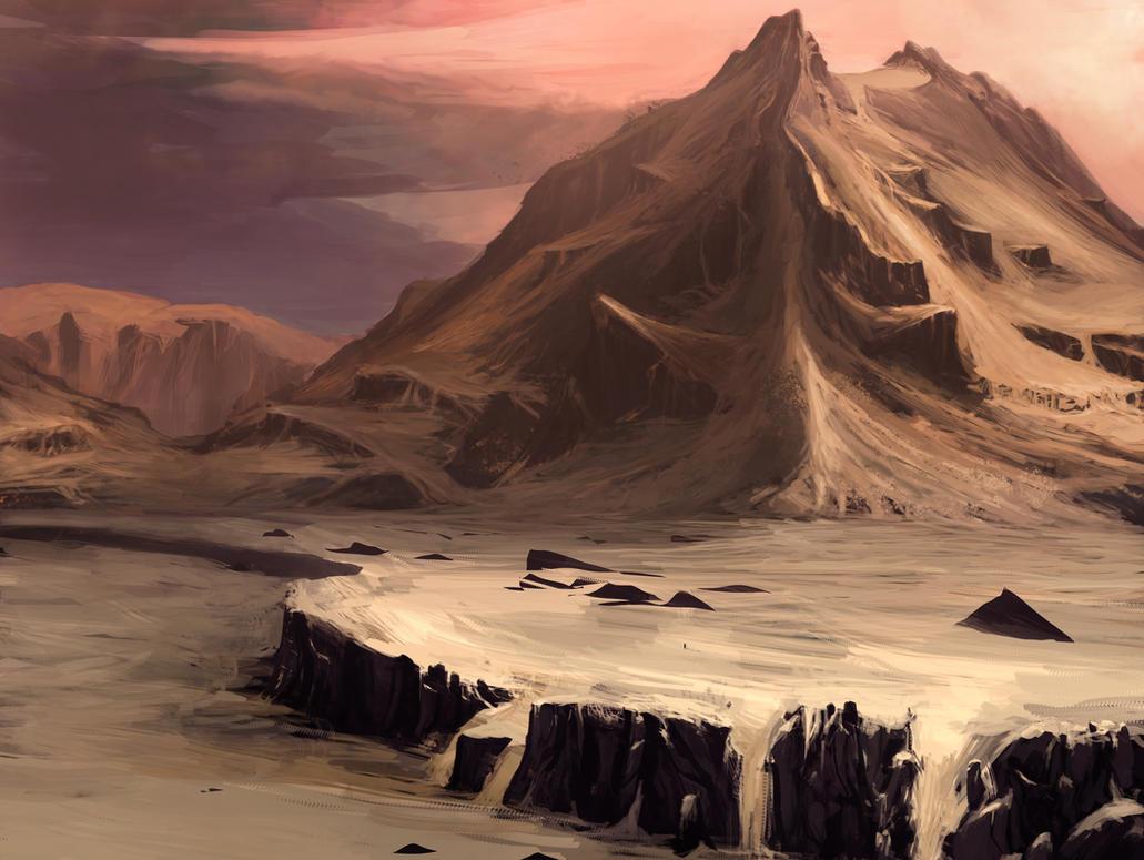 Uśpiony wulkan  Desert_volcano_by_balance_sheet