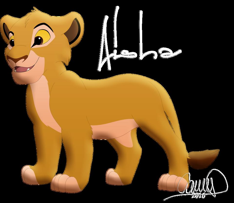 como serian si fueran un leon (divertido) Aisha__gift_for_tlk323__by_camiitlk-da250ef