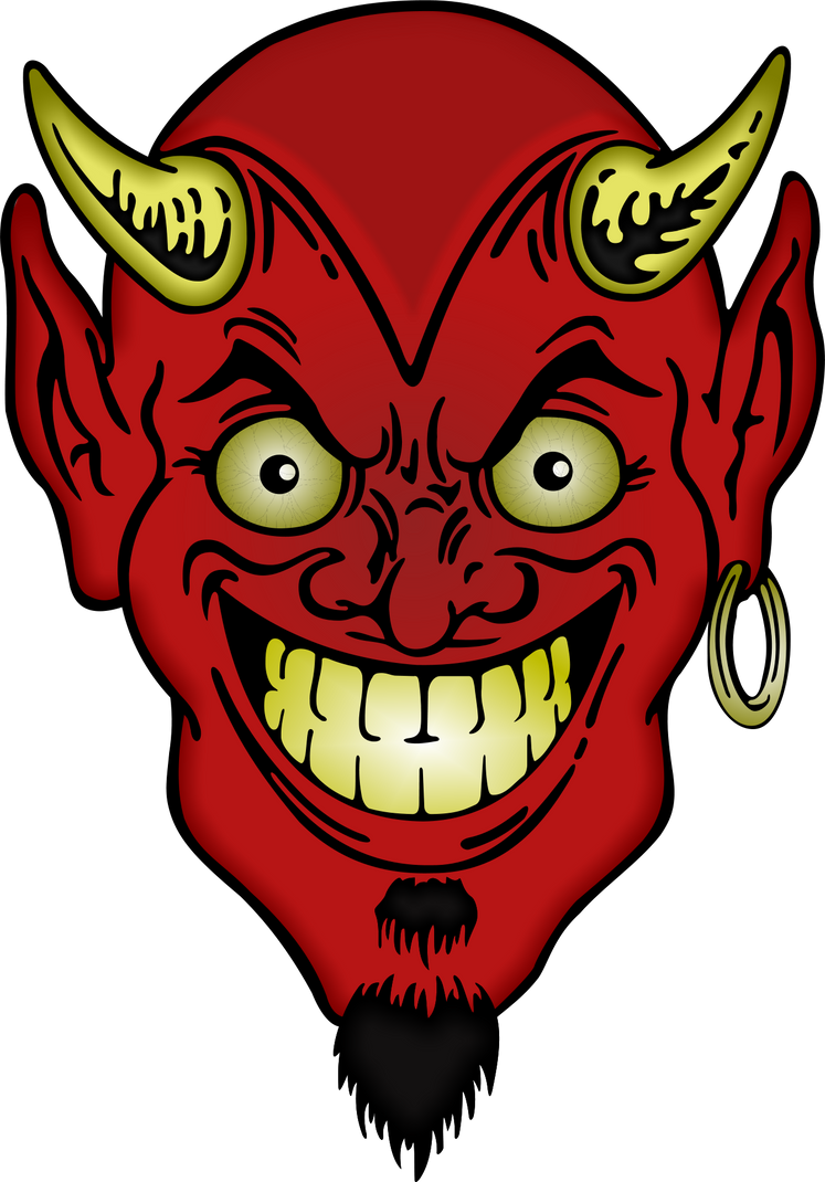 COPE- TO SHRINK BACK IN FEAR OR LOATHING - Page 3 Devil_s_face_by_cryptoworks-d865x4j
