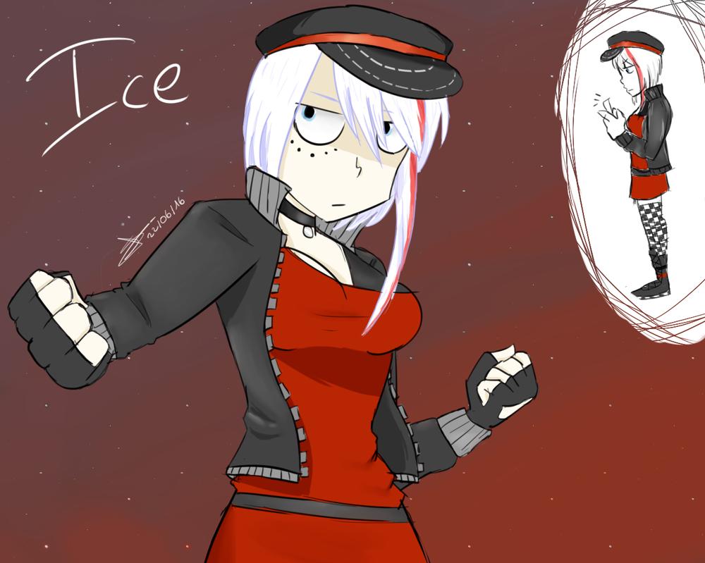 Gribouillis par ci par là _oc__ice_scream_by_tsukamisama-da7befq