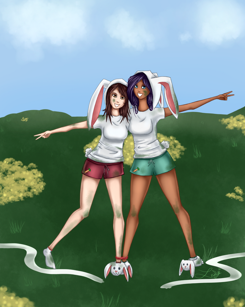 [MMA]Saturn's Art-ening Updated: August 11th - Page 6 Ca__three_legged_bunny_race__by_leyrose-da0s840