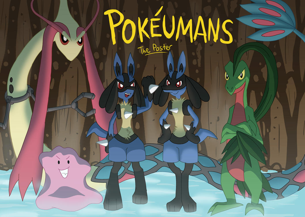 Galerie des Pokéumains Pokeumans__the_poster_by_jigglypuff525-d4t3hp2