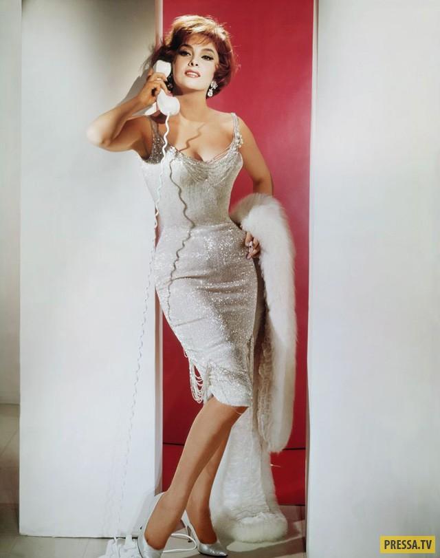 """Джина Лоллобриджида и Рок Хадсон в комедии Роберта Маллигана  """"Когда наступает сентябрь"""", 1961 г 1494647455_18"""