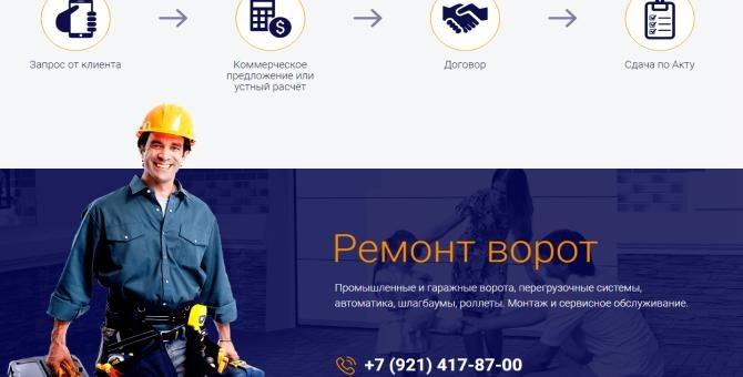 Компания «Альфа Дом» - надёжные ворота и шлагбаумы в Петербурге 21128