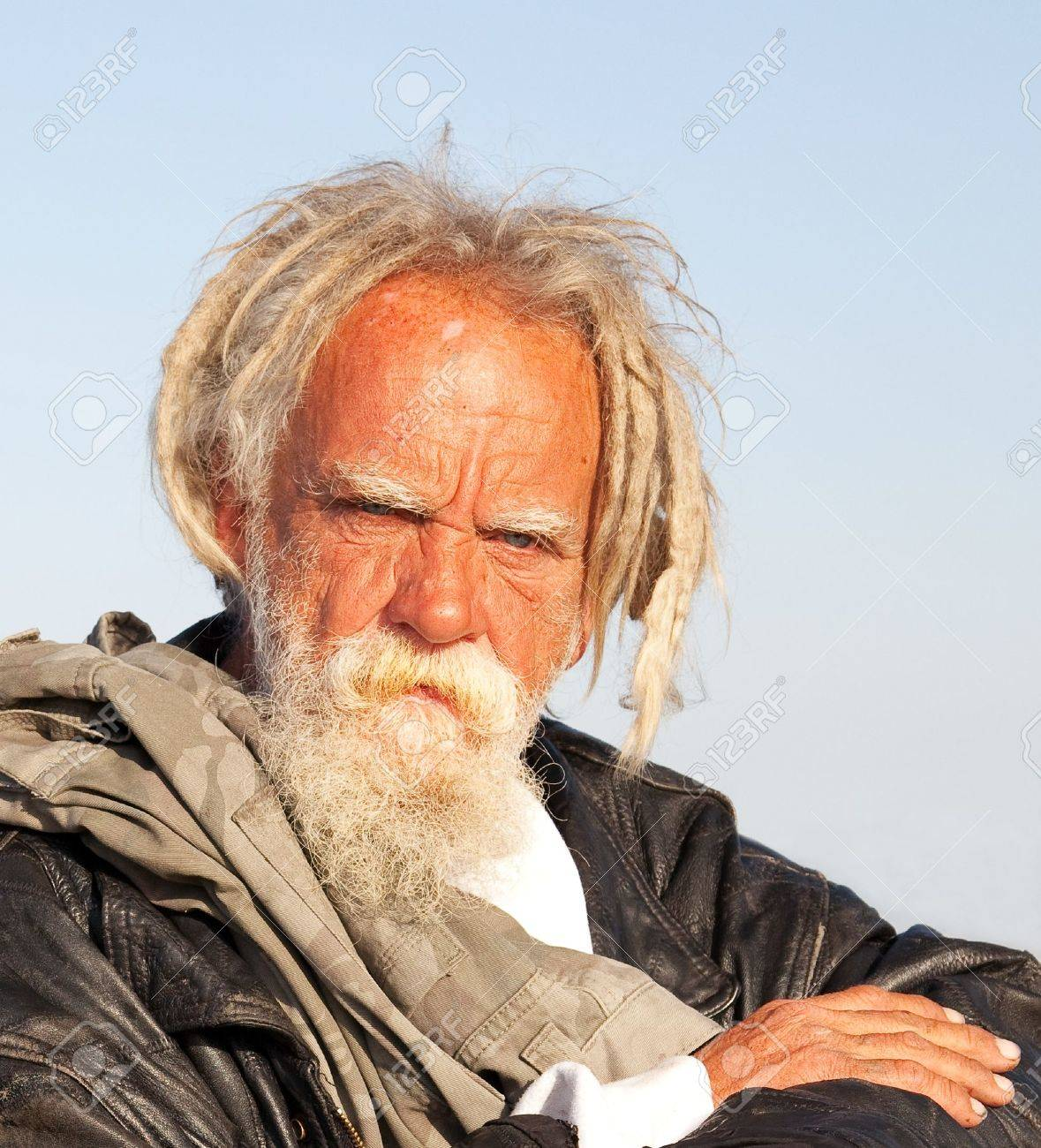 1.0 The Negative One - Old man Story 10477233-Portrait-of-a-homeless-man-in-Southern-California-Stock-Photo-old
